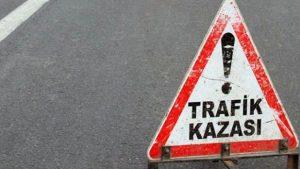 Nusdaybin'de kaza: 1 Ölü, 4 yaralı