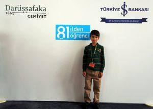 Mardin'in gururu Mehmet Salih Tur Darüşşafaka'da