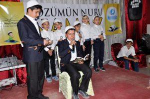 """Kızıltepe'de """"Gözümün Nuru Namaz"""" etkinliği"""