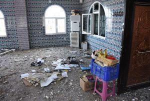 Nusaybin'de Teröristlerin camilere verdiği tahribat ortaya çıktı