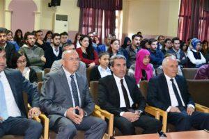 Mardin Milli Eğitim Müdürü Sarı, öğretmenlerle bir araya geldi