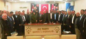 AK Parti belediye meclis üyeleriyle bir araya geldi