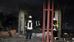 Derik'te evde yangın: 2 ölü, 2 yaralı