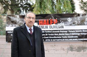 Kızıltepe'de Halepliler için yardım kampanyası