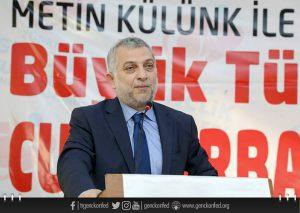 Külünk : Türkiye'nin bölgede güçlü olmasını çekemeyenler var