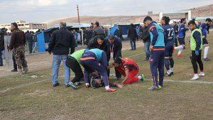 Kurtalanspor ile Mardin 47 Spor maçında kavga: 2 yaralı