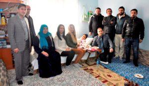 Evde eğitim alan öğrenciye öğretmenlerinden ziyaret
