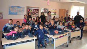 Ankara Marev Vakfından Öğrencilere  Yardım
