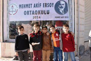 Nusaybin'de Okul yararına kermes