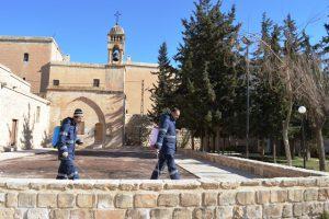 Artuklu'da Kilise ve manastırlar temizlendi