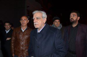 Ahmet Türk evine geldi