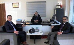 Başsavcı Mehmet Özel'den BİK'e veda ziyareti
