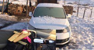 Saldırıda kullanılmak üzere gasp edilen araç ele geçirildi