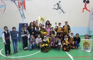 Halk oyunları yarışması Mardin'de düzenlendi