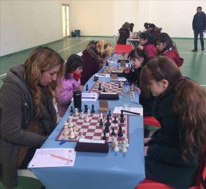 Kadınlarda Satranç Turnuvası Heyecanı