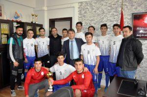 Kızıltepe'de hentbol başarısı