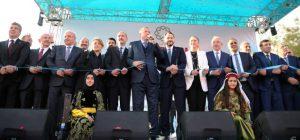 Cumhurbaşkanı Erdoğan, 211 projenin toplu açılışını yaptı