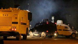 Bekçi aracına koyulan patlayıcı infilak ettirildi: 1 Yaralı