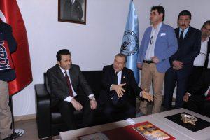 Muammer Güler Referandum çalışmalarına destek için Mardin'de