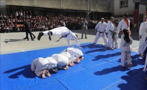 Judoculardan muhteşem gösteri