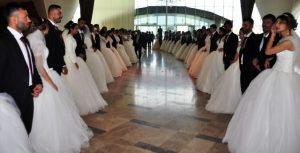 Mardin'de toplu nikah töreni