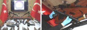 Silah Kaçakçılarına Şafak Operasyonu
