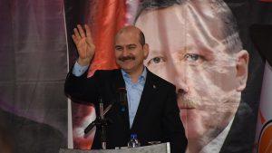 Bakan Soylu : Millet bize Türkiye'yi bu darbe üreten sistemden kurtarma görevi verdi