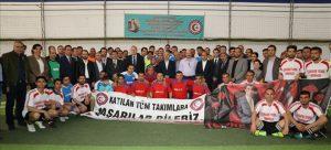 Şehit Kaymakam anısına futbol turnuvası