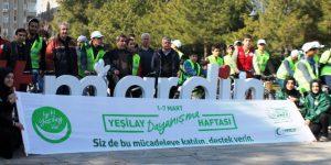 Mardin Yeşilay'dan bisiklet turu