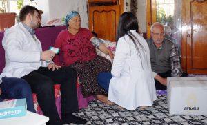 Artuklu belediyesi evde bakım hizmetlerine başladı