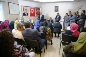Miroğlu'ndan İlçe Teşkilatına Teşekkür Ziyareti