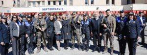 Polis teşkilatın 172'nci kuruluş yıl dönümü törenlerle kutlandı
