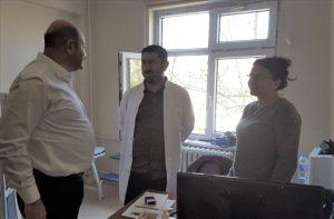 Mazıdağı Devlet Hastanesine Yeni Cihaz