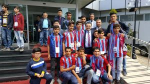Başkan Genç, Mardinli çocuklarla buluştu