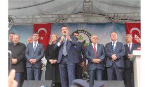 """Bakan Tüfenkçi, """"Biz siyaseti, bu ülkenin kardeşliği için yapıyoruz"""""""
