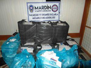 Mardin'de bir ayda 21 kğ esrar ele geçirildi