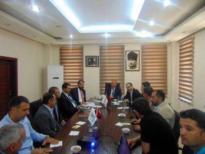 Bilim Sanayi ve Teknoloji Bakanlığı Danışmanları Mardin'de incelemelerde bulundu