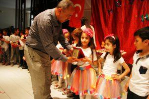 Ömerli Atatürk İlkokulunda Okuma Bayramı Düzenlendi