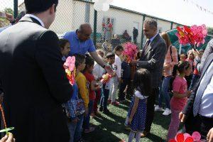 Ömerli'de çocuk şenliği