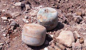 Nusaybin'de patlayıcı ve mühimmat ele geçirildi