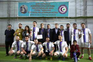 Şehit Kaymakam Safitürk Futbol Turnuvası sona erdi