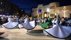 Nusaybin'de sema gösterisi