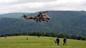 Askeri Helikopter düştü : 13 Şehit