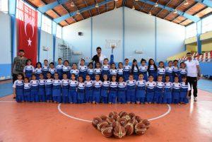Nusaybin'de çocuk basketbol kulübü kuruldu
