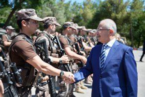 Vali Yaman güvenlik güçlerinin bayramını kutladı