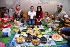 Kampta buruk ama huzurlu ramazan
