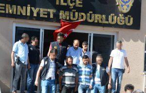 Kızıltepe'de 5 kişi tutuklandı