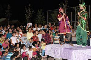 Nusaybin'de ramazan eğlencesi düzenlendi