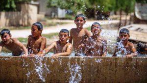 Mardin'de sıcaklık 39 dereceye ulaştı