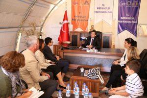 BM Heyeti sığınmacıları ziyaret etti